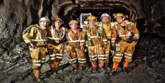 Maden İşçilerine Çipli Takip