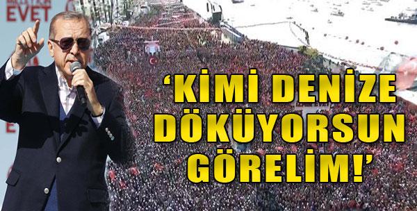 Erdoğan'dan İzmir Çıkarması