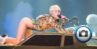Miley Cyrus Yine Olay Yararttı