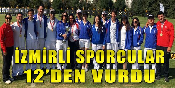 Zirve yine İzmir'in...