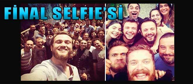 Muhteşem Yüzyıl'dan Final Selfie'si