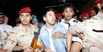 Messi'nin Zor Anları!
