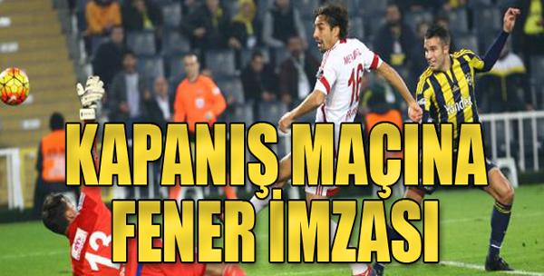 Fenerbahçe: 2  M.Sivasspor: 1