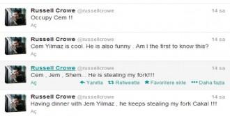 Crowe'dan 'Gezi' Göndermesi