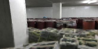 Çeşme'de Kaçak İçki Operasyonu