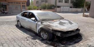 Cezaevi Müdürünün Otomobili Kundaklandı