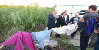 Chp'li Gürsel Tekin, Tarım İşçilerini Çadırlarında Ziyaret Etti