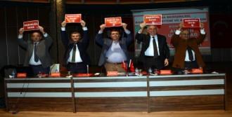 CHP'li Vekiller, Muğla'da 'Hayır' Turuna Çıktı
