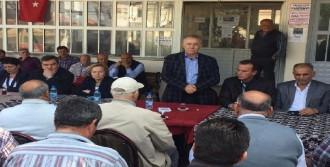 CHP'li Yüksel, Menderes'te 'Hayır' Oyu İstedi