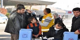 Suriyeli Çocuklara Aşı