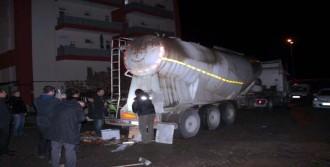Çimento Tankerinde 250 Bin Paket Kaçak Sigara Ele Geçirildi
