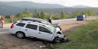 Cip İle Otomobil Çarpıştı: 1 Ölü, 3 Yaralı