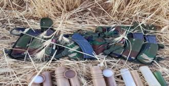 Cizre'de PKK'nın Mühimmatları Ele Geçirildi