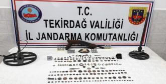 Çorlu'da Tarihi Eser Operasyonu