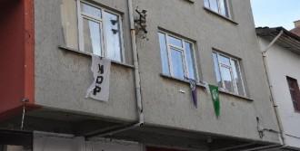 HDP Binasına Taşlı Saldırı