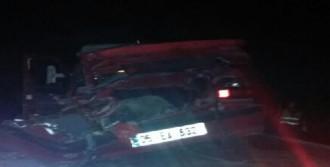 Çorum'da Kaza: 1 Ölü, 3 Ağır Yaralı
