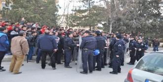 Çorum'da Zonguldaklı Taraftarlar Olay Çıkardı