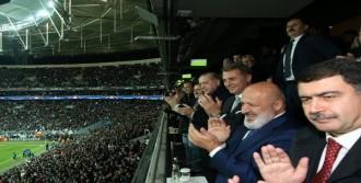 Erdoğan Maçı Locadan İzledi