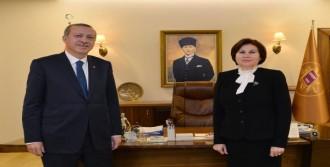 Erdoğan Danıştay'ı Ziyaret Etti