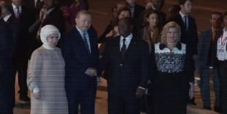 Cumhurbaşkanı Erdoğan Fildişi Sahili'nde