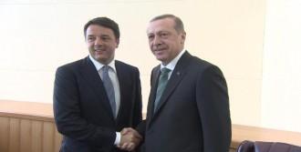 Erdoğan, Renzi İle Görüştü