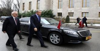 Erdoğan, İsmail Kahraman'ı Ziyaret Etti
