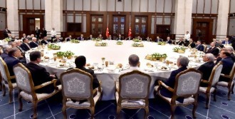 Cumhurbaşkanlığı Sarayı'nda İftar Programı