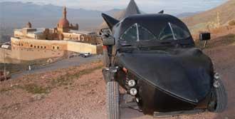 Ağrılı Ustadan Yerli 'Batmobil'