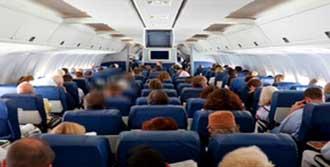 Uçakta Masturbasyon Şoku!