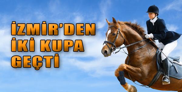 İzmir'den İki Kupa Geçti