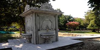 Sultan Parkı'na Tarihi Çeşme