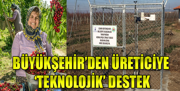 İzmirli Çiftçiler İçin 'Erken Uyarı' Sistemi