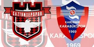 Gaziantepspor 3-0 Karabükspor