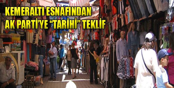 'Kemeraltı İzmir'in Kalbidir'