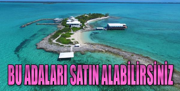 Bu Adaları Satın Alabilirsiniz