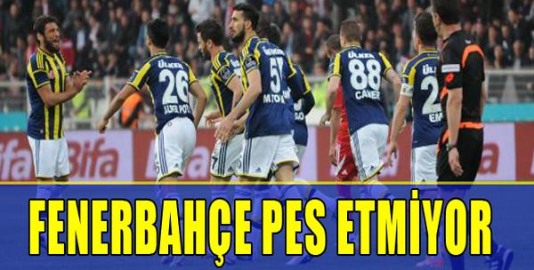M.Sivasspor: 2 - Fenerbahçe: 3