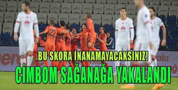 İstanbul Başakşehir 4-0 Galatasaray