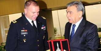 NATO Komutanından Kocaoğlu'na Ziyaret