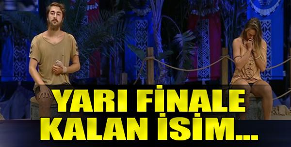 Yarı Finale Kalan İsim...