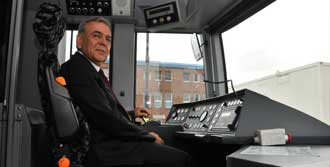 Başkan Tramvay İçin Almanya'da