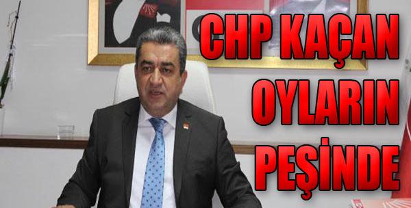 CHP Kaçan Oyların Peşinde