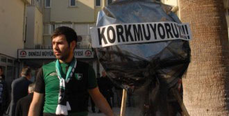Denizlispor Taraftarından Protesto
