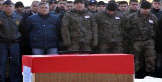 Şehit Polis Babasıyla Uğurlandı