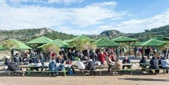 Dalyan'daki Yabancılar Noel'i Kutladı
