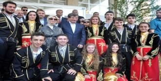 Davutoğlu'na Başbakan Karşılaması