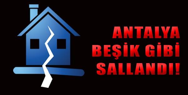 Antalya Yine Sallandı!