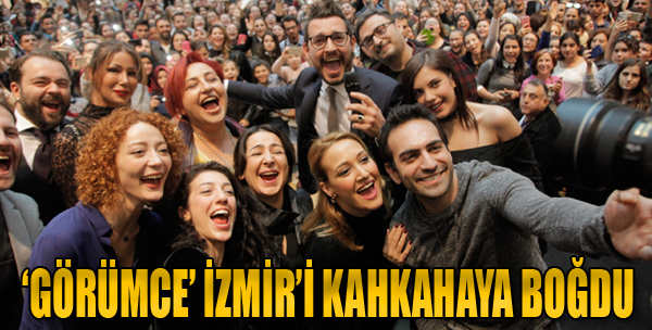 'Görümce' İzmir'i Kahkahaya Boğdu