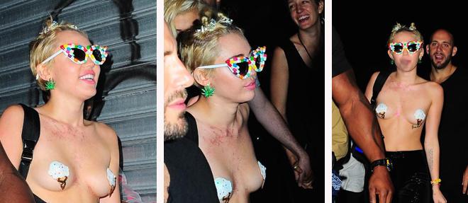 Miley Uslanmıyor