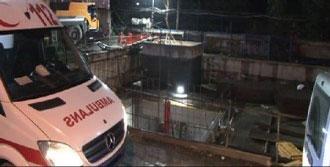 Metro Şantiyesinde İş Kazası