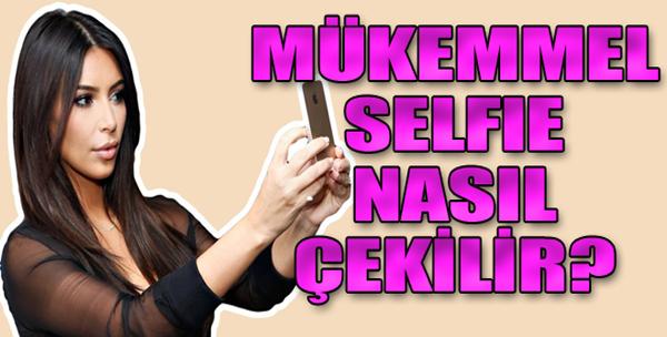 Mükemmel Selfie Çekmenin Püf Noktası